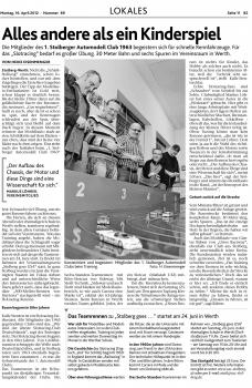 AN 2012-04-16 Vorbericht Teamrennen
